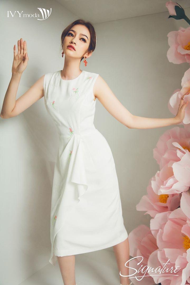 Váy đầm đẹp màu trắng