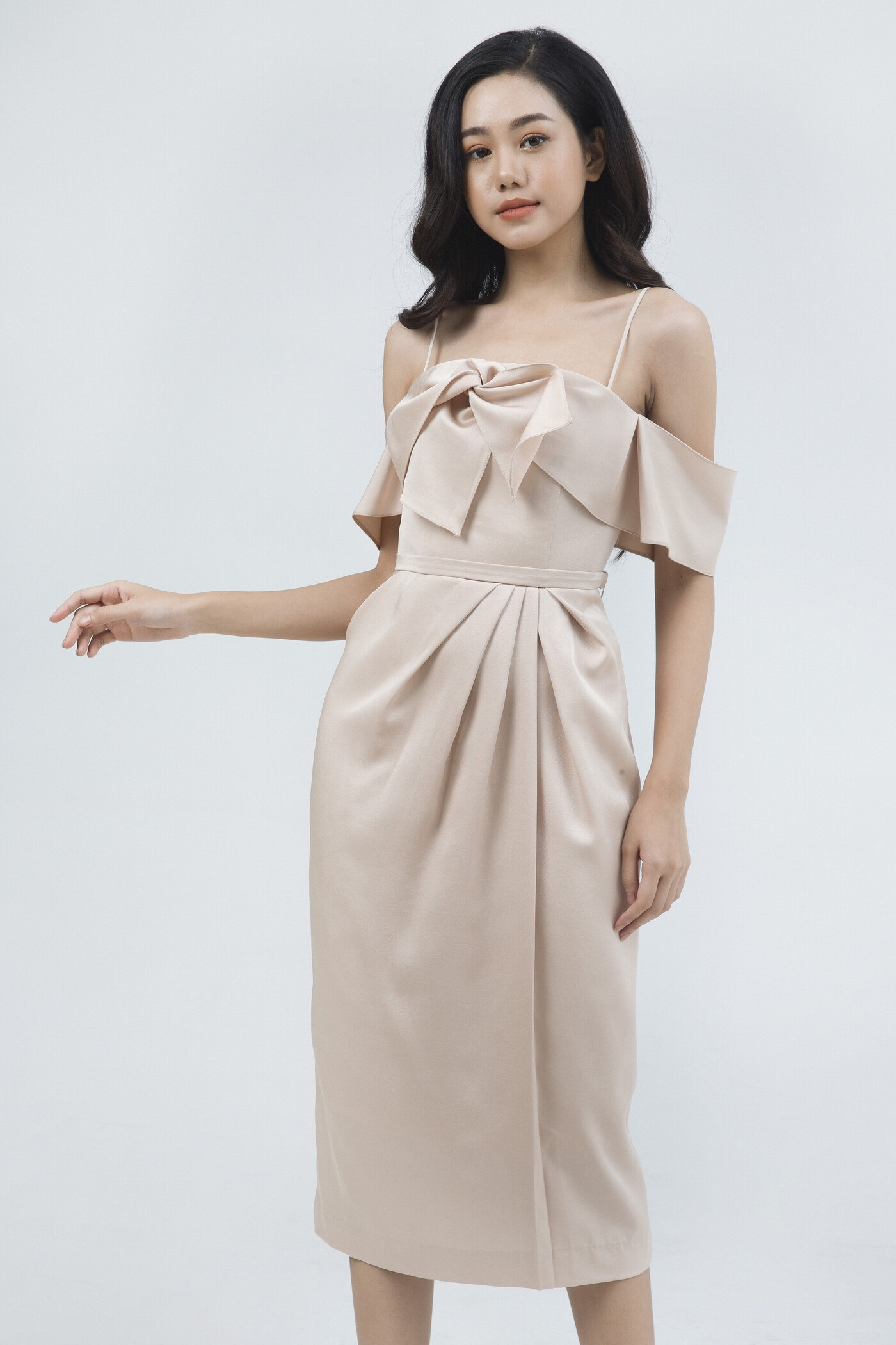 váy bẹp vai cao cấp