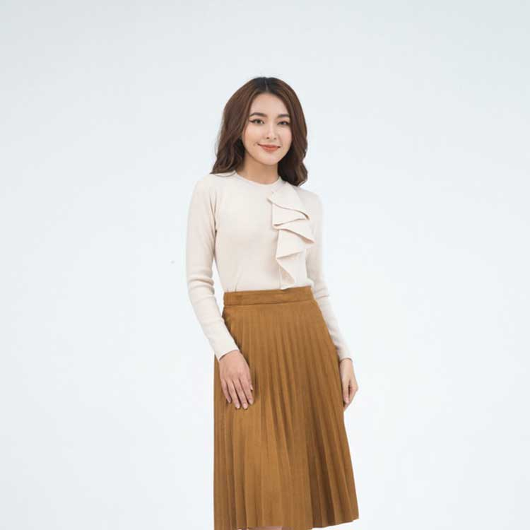 áo len dệt kim cao cấp cho nữ