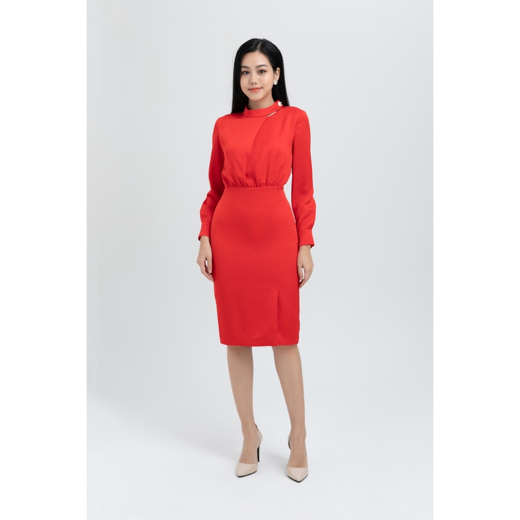 váy đầm đẹp màu đỏ