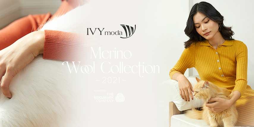 Mua áo khoác len cho nữ tại thời trang IVY moda