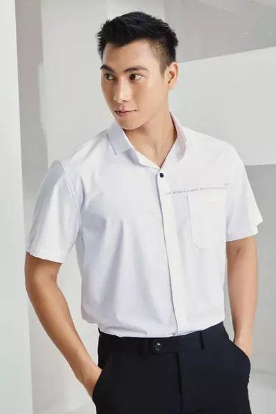 áo sơ mi trắng nam đẹp