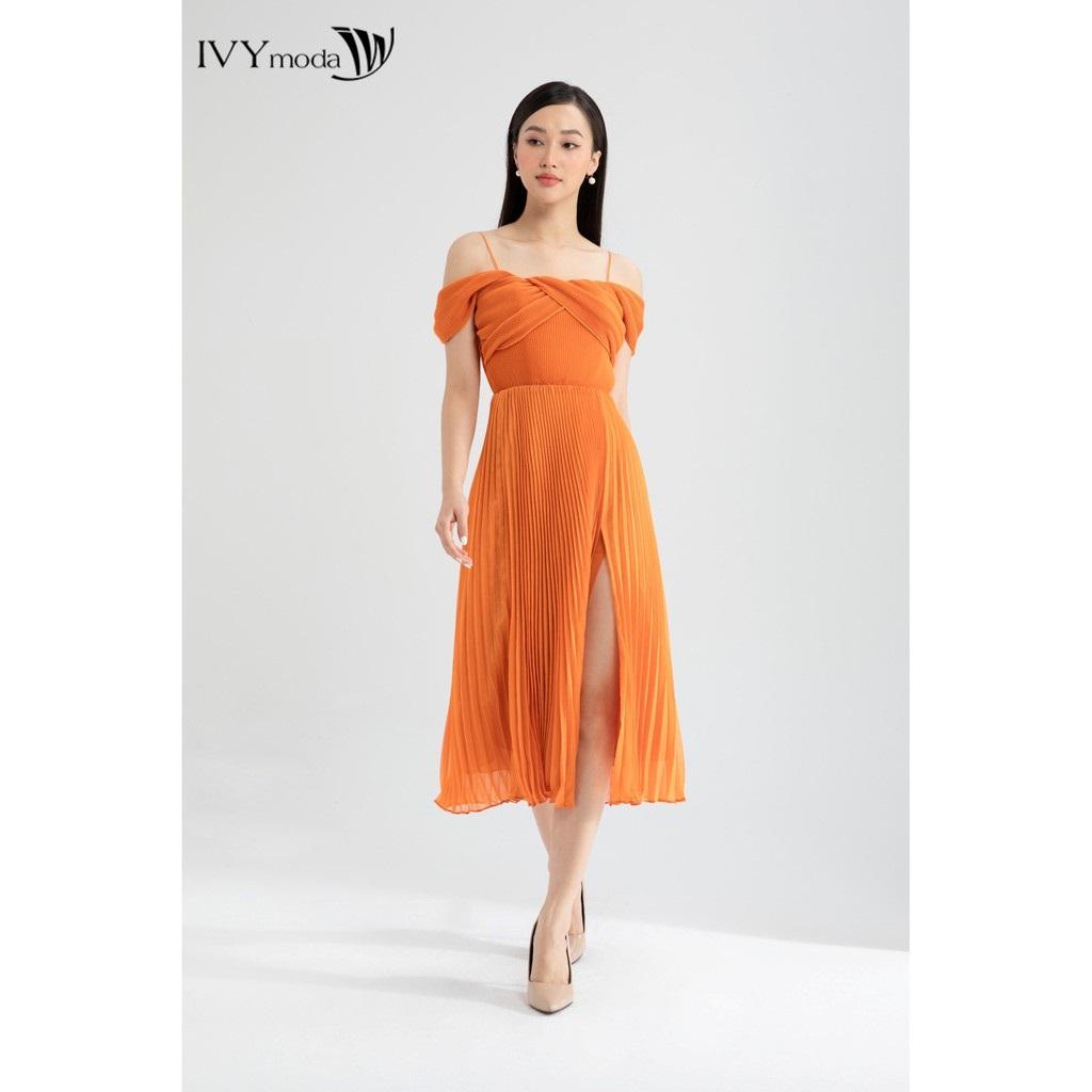 váy dạ hội xẻ tà - đầm đi tiệc 2020