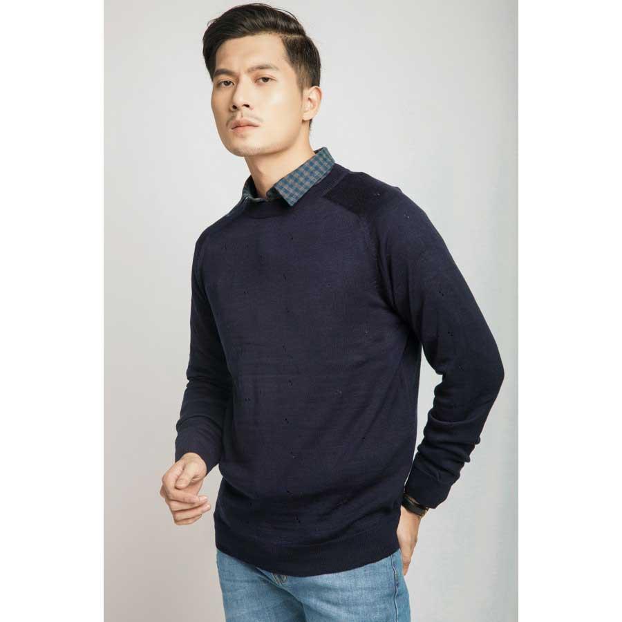 Áo phông poloman len – dệt kim