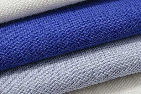 Vải pique cotton may áo polo