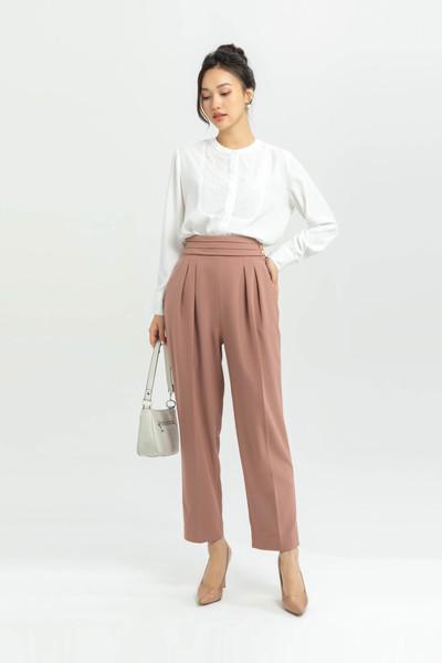 Lựa quần kaki nữđẹp tại IVY moda