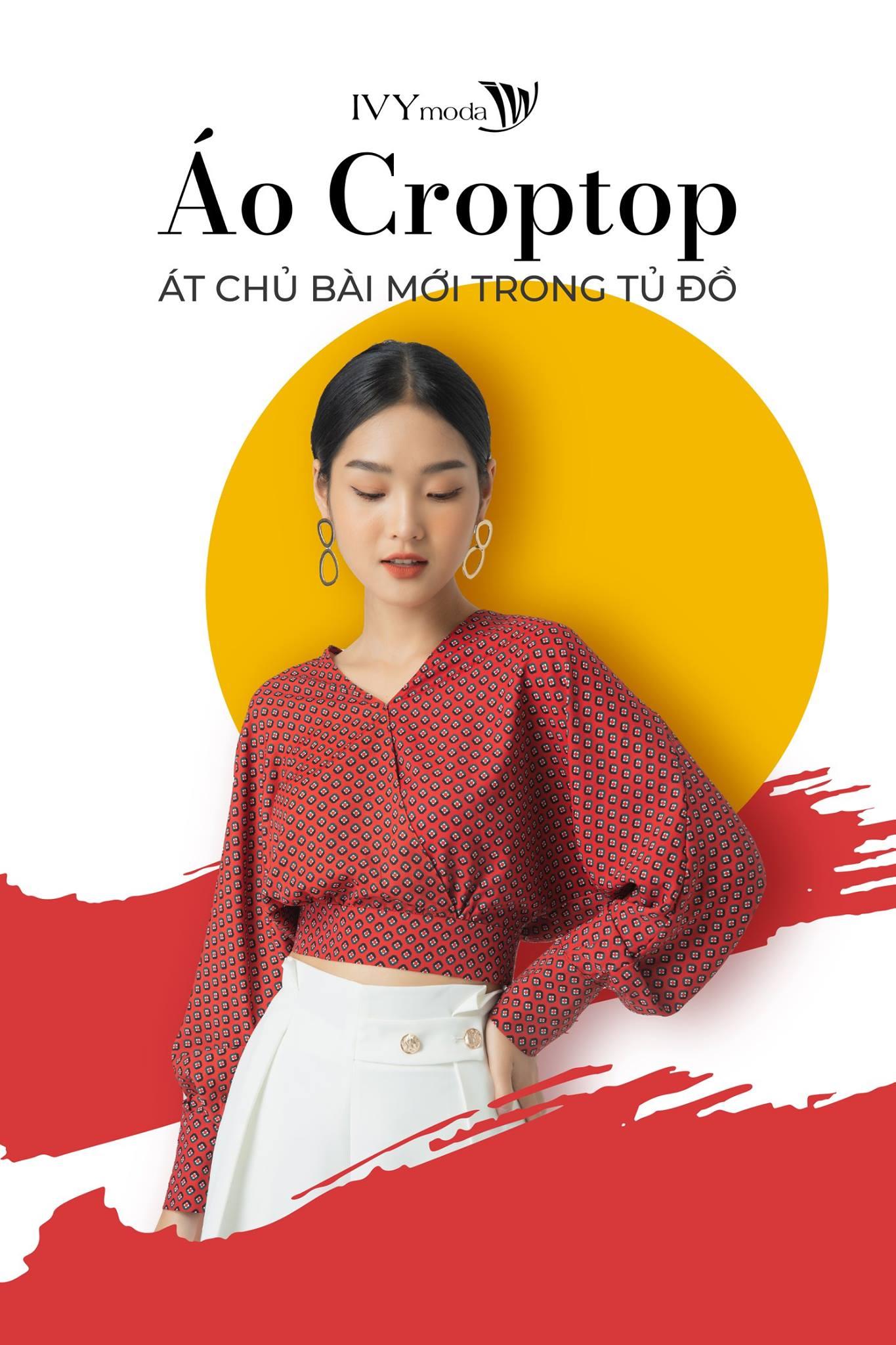 Mua áo croptop tại hãng thời trang Ivy Moda