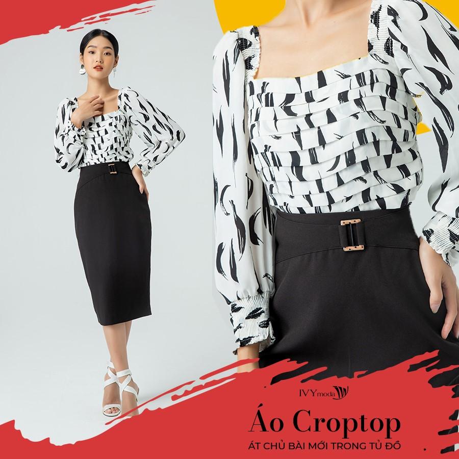 Những mẫu áo croptop nữ đẹptay dàiform dáng được ưa chuộng